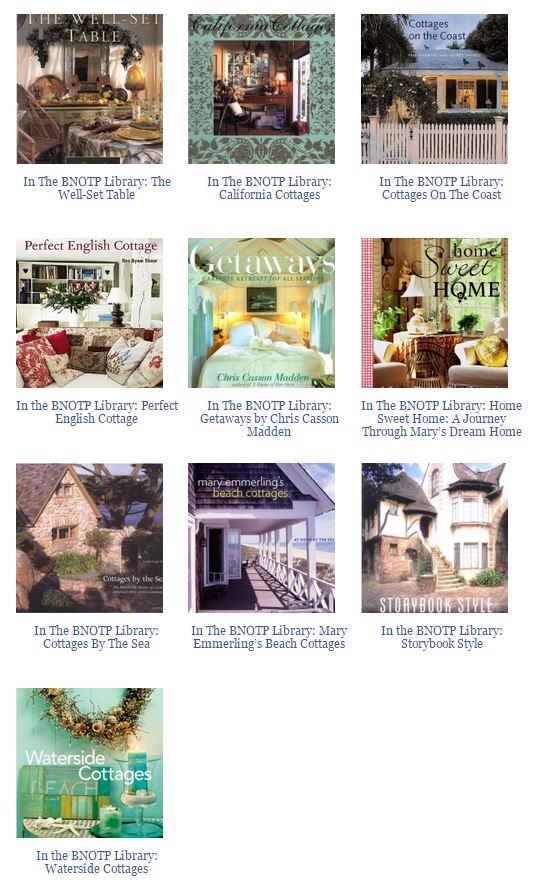 Books About Cottages