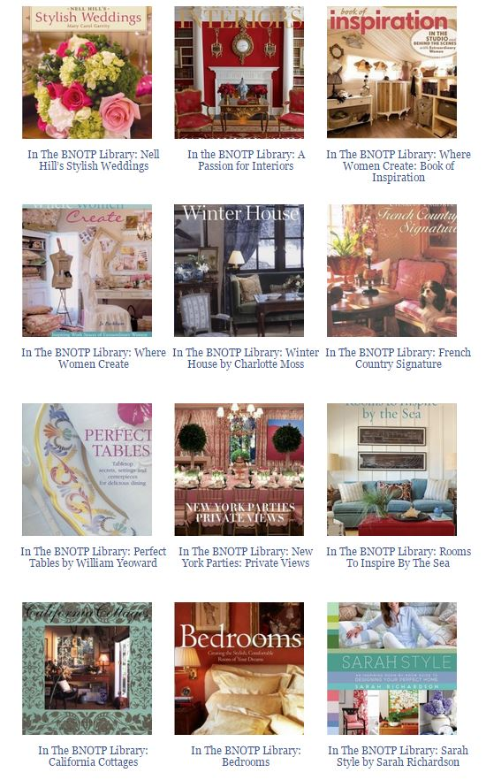 Books About Designer's Homes 1