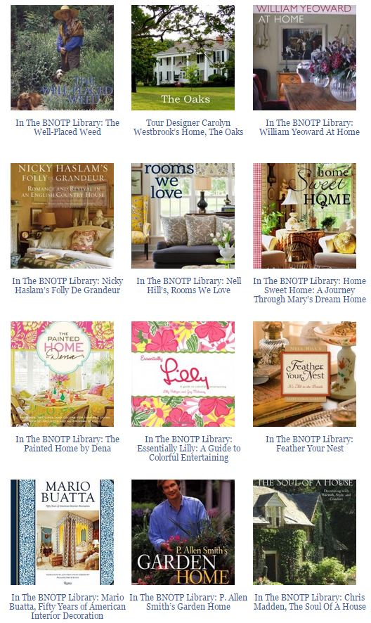 Books About Designer's Homes 2