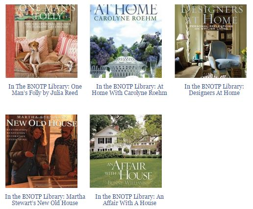 Books About Designer's Homes 3