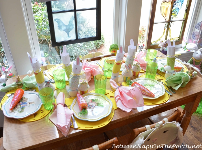 Children's Easter Tablescape