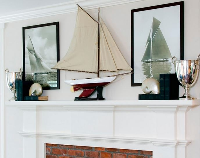 Decorate Beach Home with Sailing Trophies