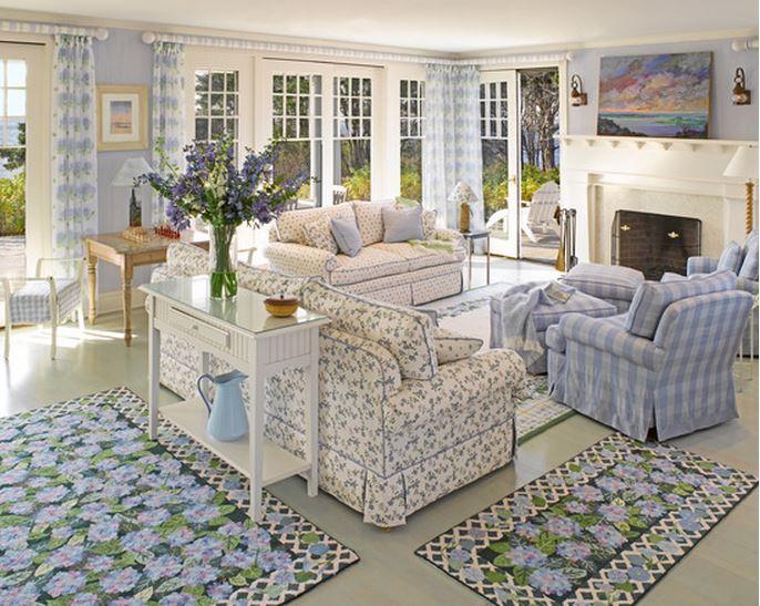 tour a dreamy seaside cottage. Black Bedroom Furniture Sets. Home Design Ideas