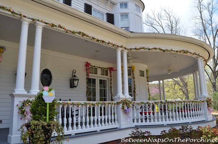 Decorate a Porch for Easter or Spring