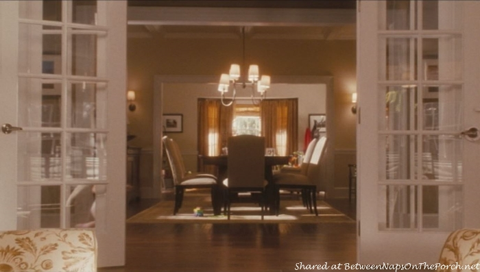 Dining Room in movie, Life As We Know It Movie