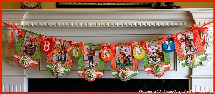Easter Banner Decoration