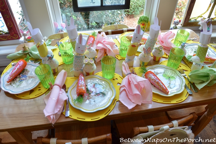 Easter China Dishware for Children