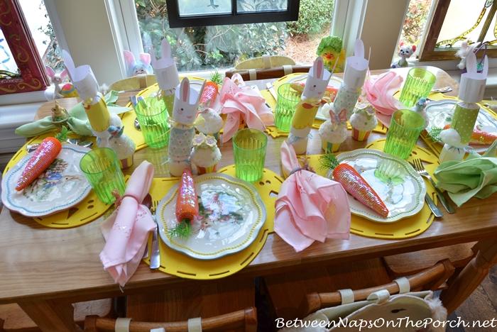 Easter China Dishware for Children