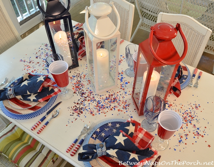 Flag Patriotic China Dishware