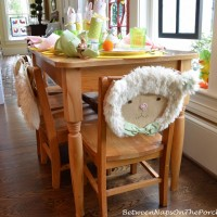 Spring Table Setting For Children