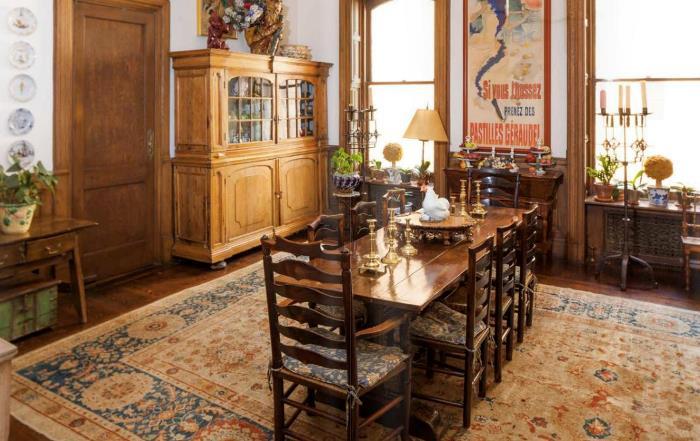 Lauren Bacall's Dining Room