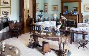 Lauren Bacall's Drawing Room Manhattan Home