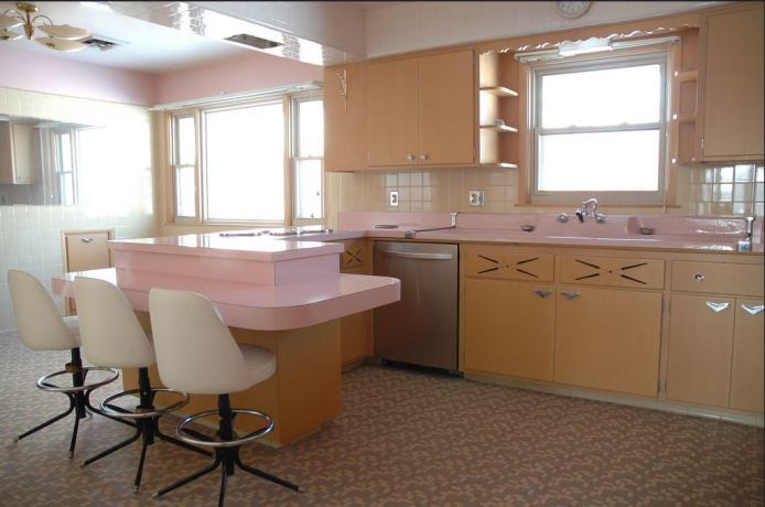 Good Never Used Kitchen With GE Appliances