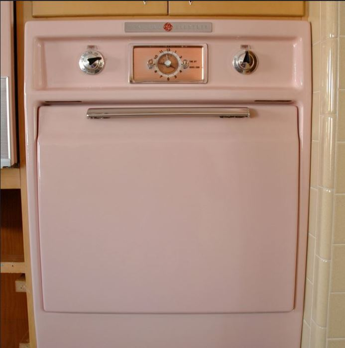 Never Used 1956 Kitchen With GE Appliances 07