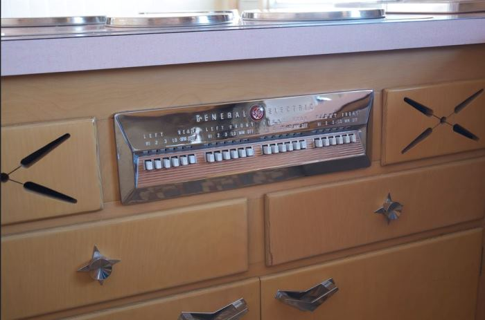 Never Used 1956 Kitchen With GE Appliances 15