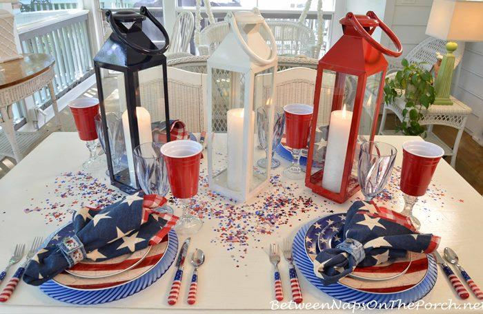 Patriotic Dishware