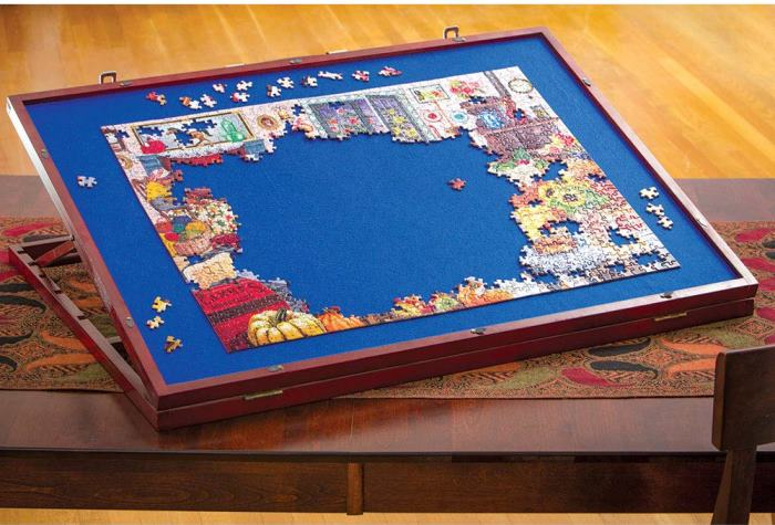Puzzle Board, No Bending Over Saves Back
