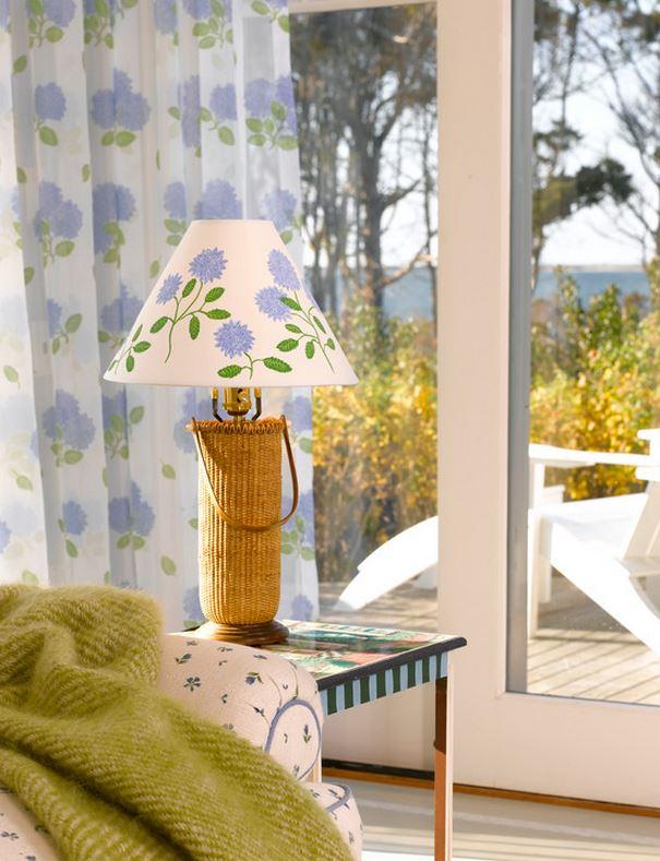 Rattan Lamp for Beach House