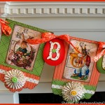 Make A Banner For Spring Decorating: A Tutorial