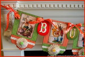 Spring Banner Decoration