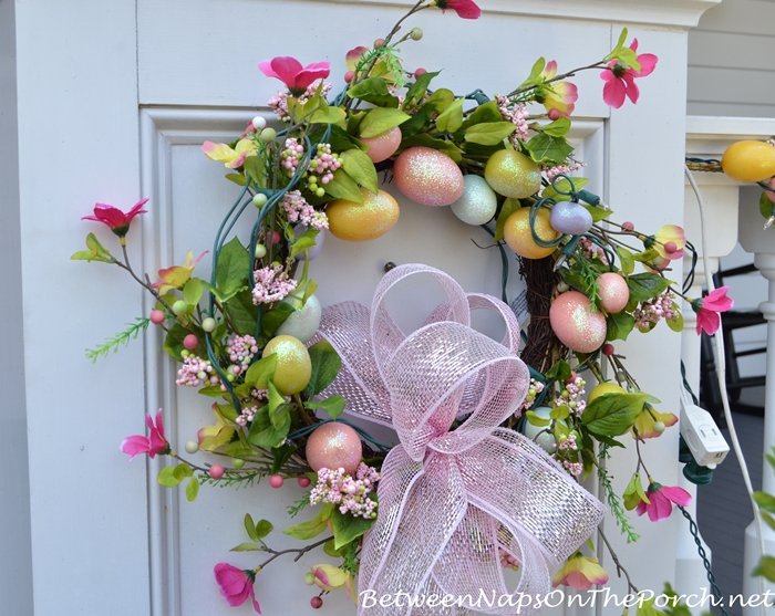 Spring Egg Wreath