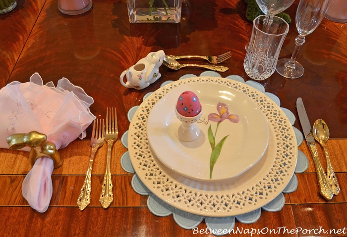 Spring Floral Plates and Pierced Plates