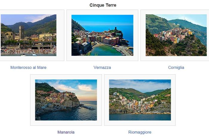 5 Villages of Cinque Terre