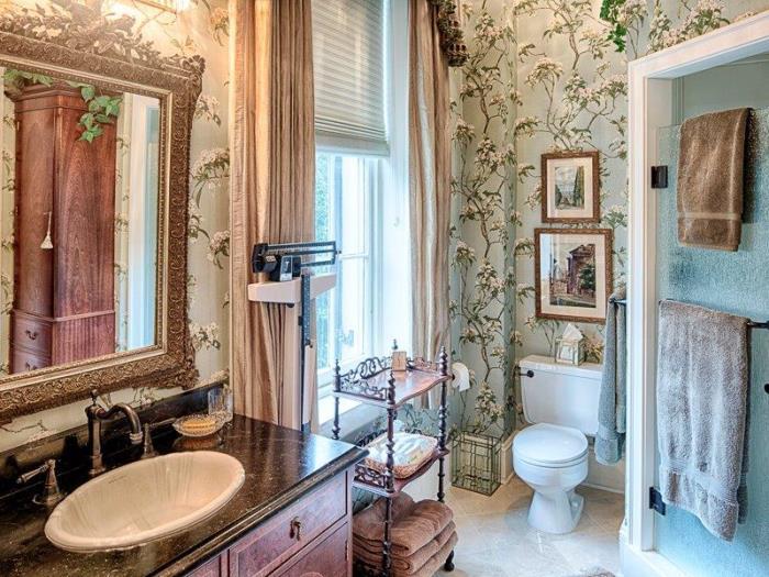 Bathroom in Historic Savannah Row House