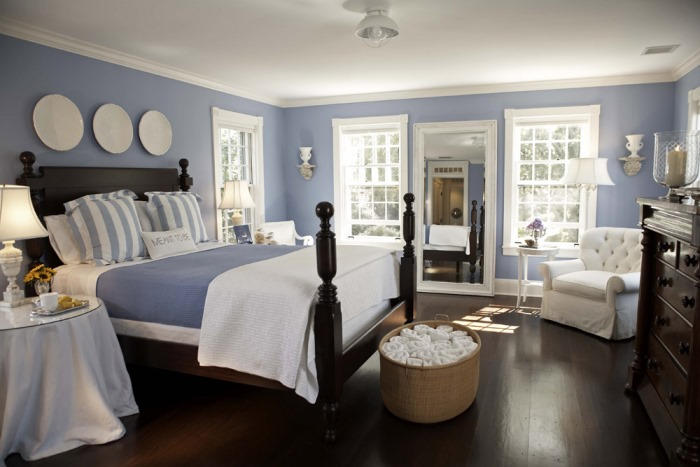 Blue and White for The Bedroom