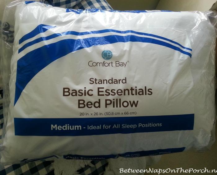 Comfort Bay Basic Essentials Bed Pillow (Medium)