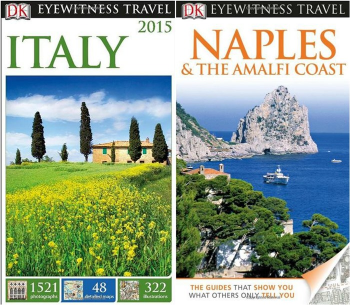 EyeWitness Travel Guides Italy, Naples & The Amalfi Coast
