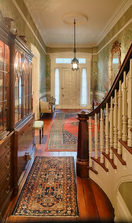 Historic Savannah Row House Entry