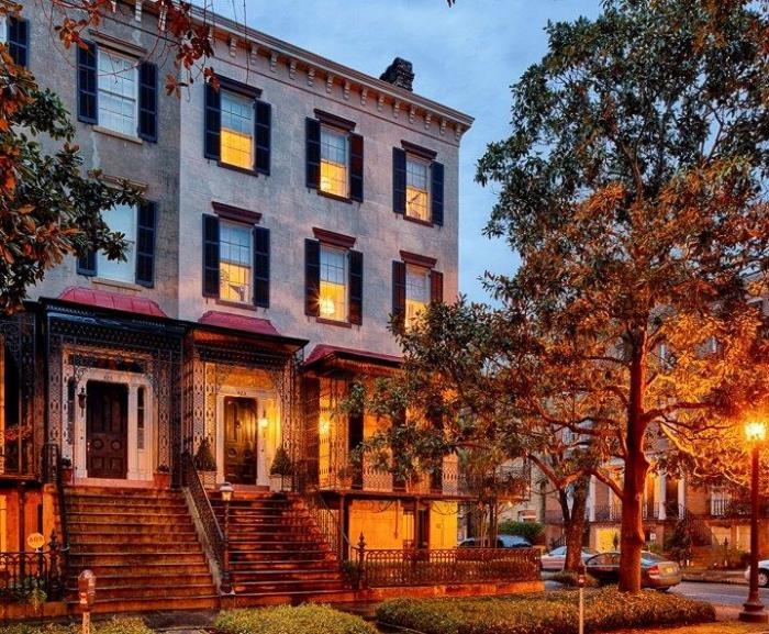 Historic Savannah Row House For Sale 16