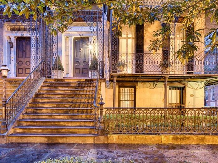 Historic Savannah Row House For Sale 17