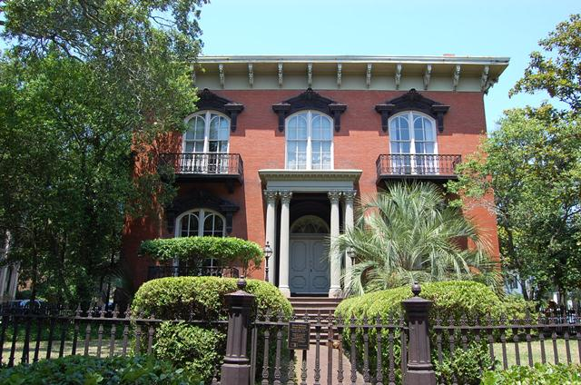 Tour An Historic Savannah Row House On Beautiful Monterey Square