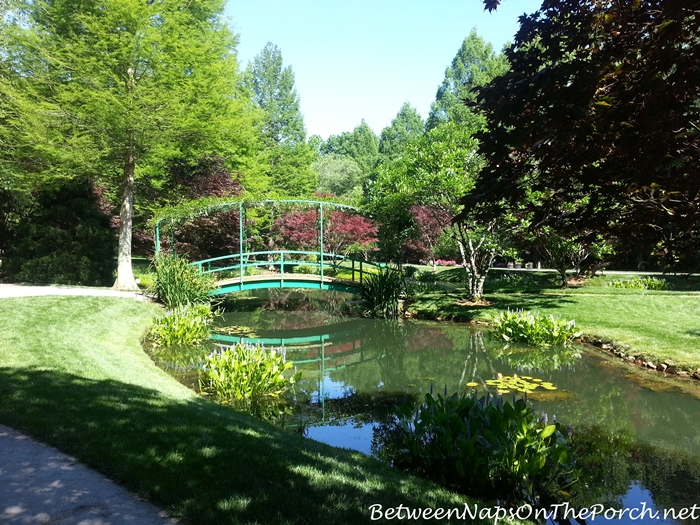 Monet Bridge in Gibbs Gardens, Ballground Georgia