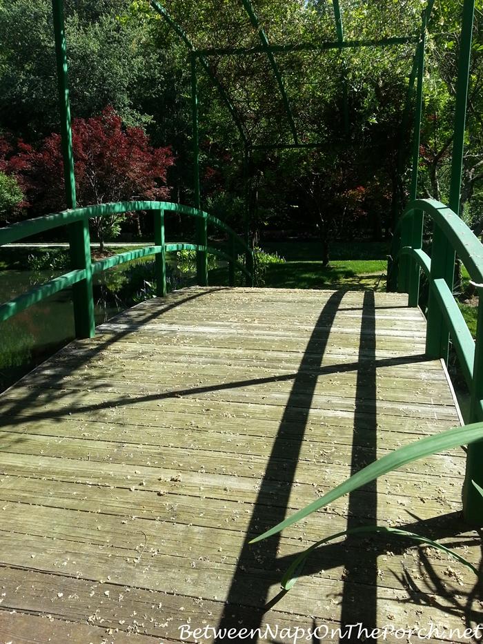 Monet Bridge in Gibbs Gardens