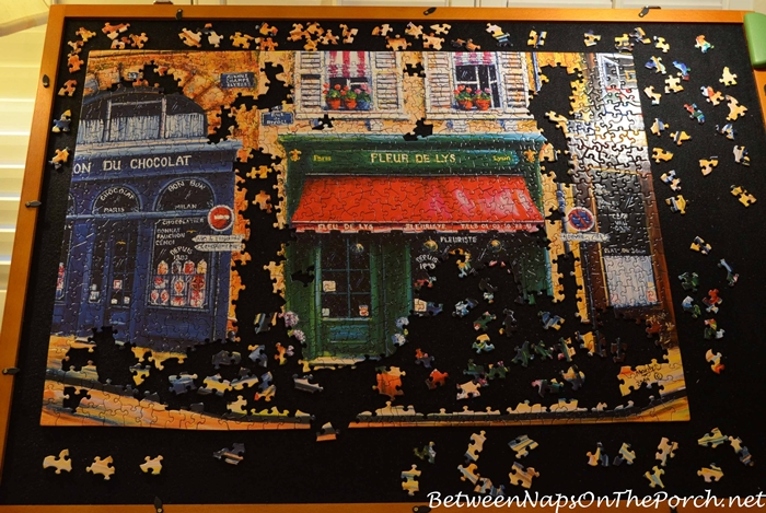 Paris Jigsaw Puzzle, Fleur de Lys by Re-Marks