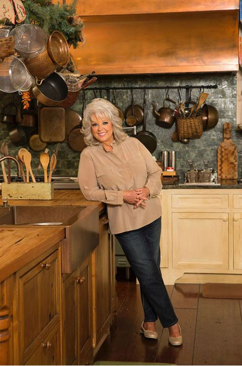 Paula Deen in her Kitchen in Savannah