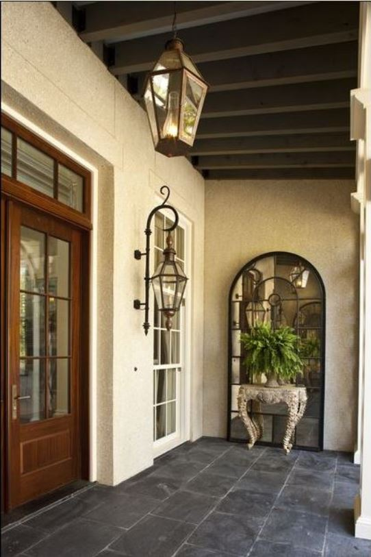 Paula Deen's Front Porch Entry