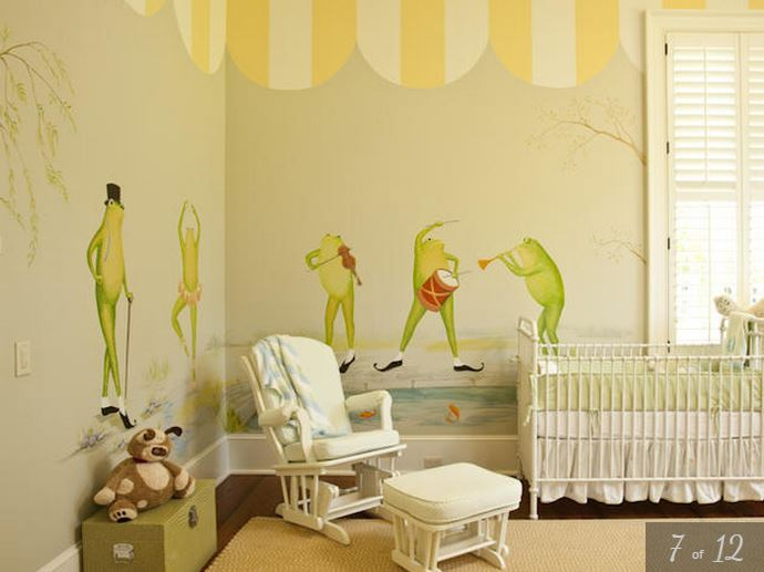 Paula Deen's Home Nursery For Grandchildren