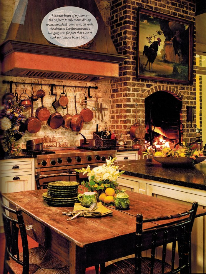 Cooking Warmers Vintage Fireplace ~ Paula deen s savannah style by