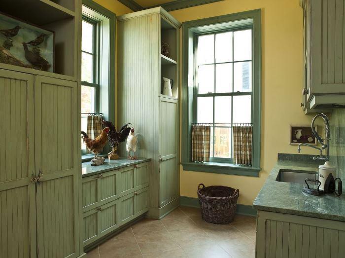 Paula Deen's Laundry Room