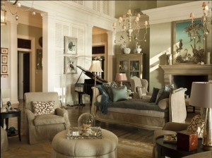 Paula Deen's Living Room, Savannah River Home