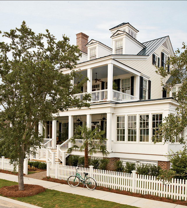 Seaside Home with Double Porches at River Dunes