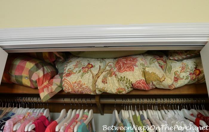 Storage for Comforter