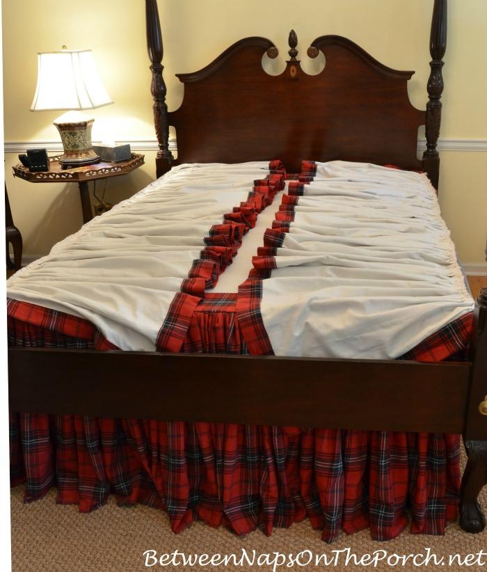 Storing Bedskirt