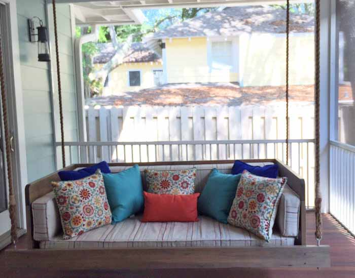 Swing Bed for Screened Porch