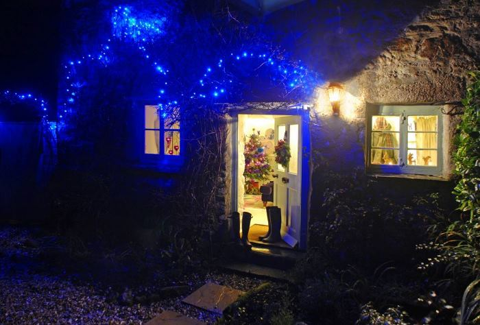 A Famtasy Storybook Cottage