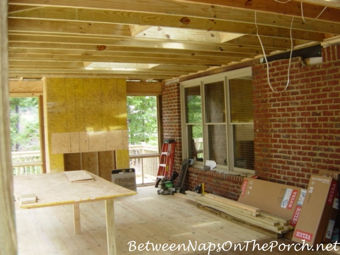 Building a Screened Porch